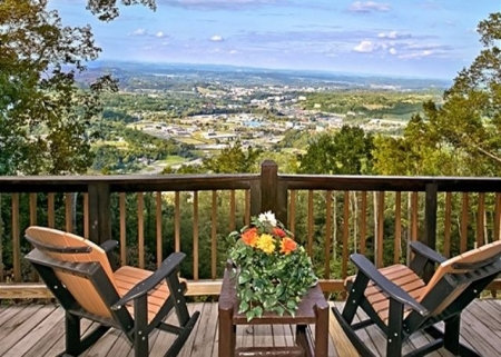 Cabin rentals in sevierville 1 bedroom cabin 89184 for Eagles view cabin sevierville tn