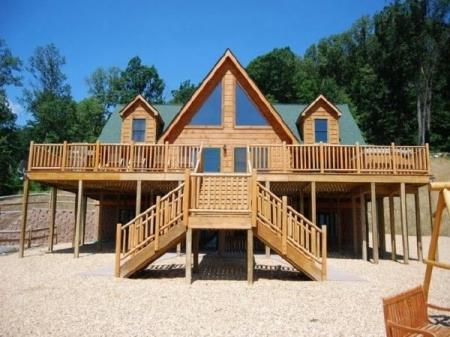 Cabin rentals in virginia beach 6 bedroom cabin 6938 for Cabin rentals near luray va